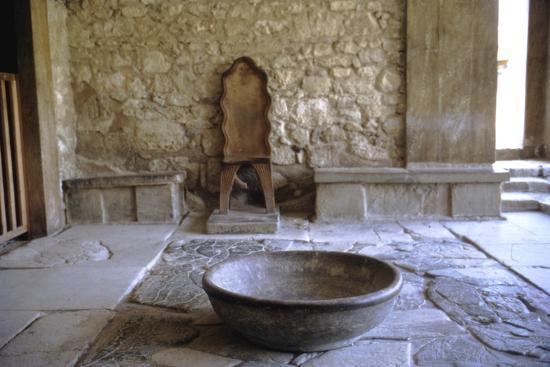Antichamber to Throne Room in Royal palace, Knossos, Crete, 15th century BC-Unknown-Photographic Print