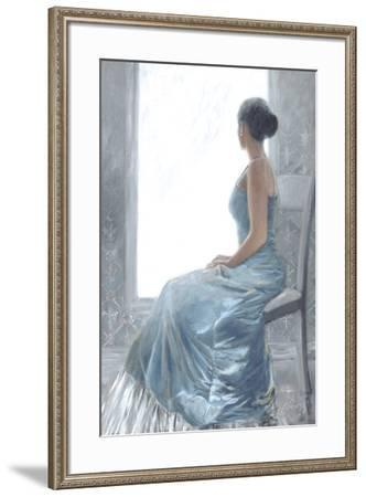 Anticipation-Shawn Mackey-Framed Art Print