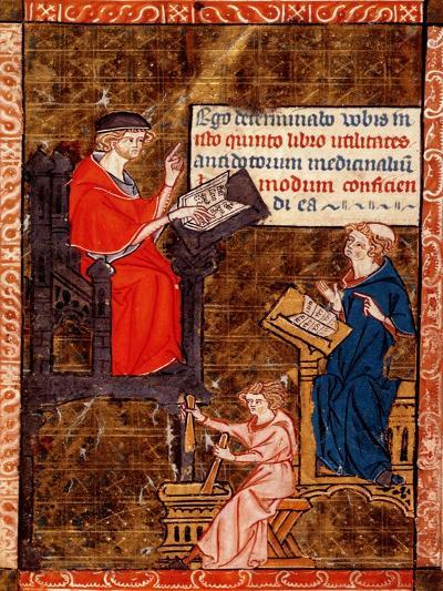 """Antidote Teaching from """"Canon of Medicine""""--Giclee Print"""