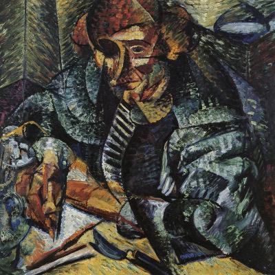 Antigraceful-Umberto Boccioni-Giclee Print