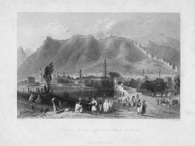 Antioch, on the Approach from Suadeah, 1836-J Redaway-Giclee Print