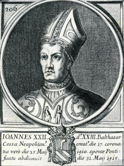 Antipope John XXIII (C.1370-1419)--Giclee Print