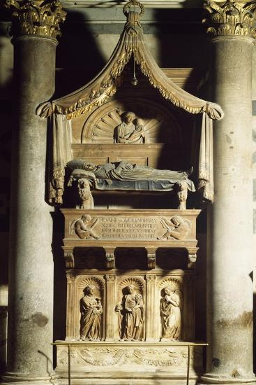 Antipope John XXIII's Tomb-Donatello-Giclee Print