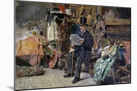 Antiquarian, 1892-1893-Tito Lessi-Mounted Giclee Print