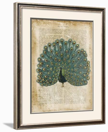 Antiquarian Birds V--Framed Art Print
