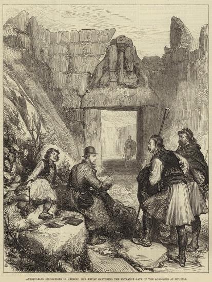 Antiquarian Discoveries in Greece--Giclee Print