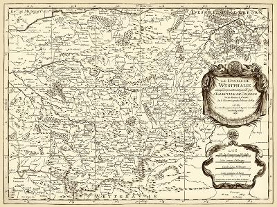 Antiquarian Map I-Vision Studio-Art Print
