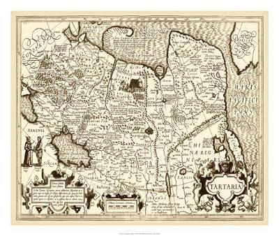 Antiquarian Map IV--Giclee Print