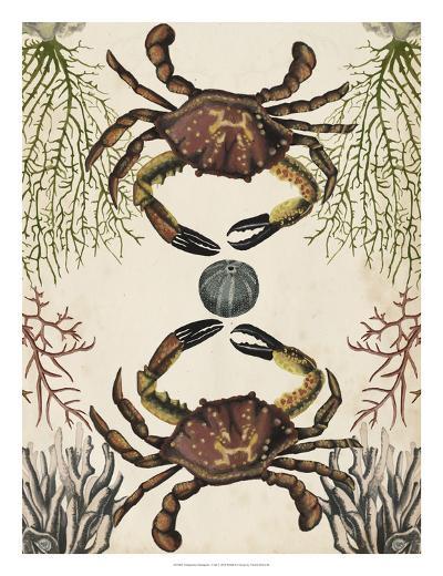 Antiquarian Menagerie - Crab-Naomi McCavitt-Giclee Print