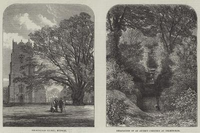 Antiquarian Researches at Helmingham--Giclee Print