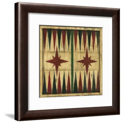 Antique Backgammon-Ethan Harper-Framed Art Print
