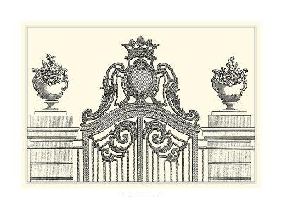 Antique Briseux Gate I-Vision Studio-Art Print