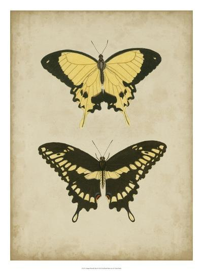 Antique Butterfly Pair I-Vision Studio-Art Print