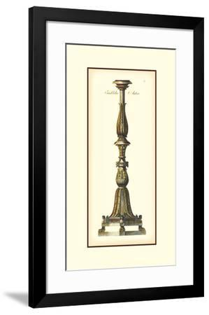 Antique Candlestick II--Framed Giclee Print