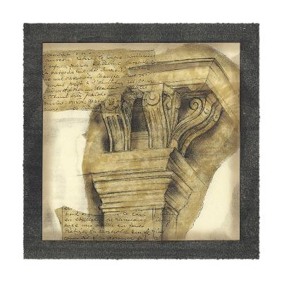 Antique Capitals II-Jennifer Goldberger-Giclee Print