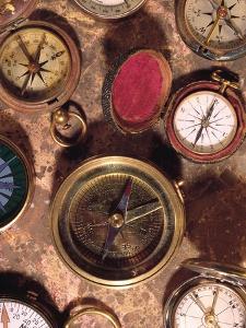 Antique Compass Collage