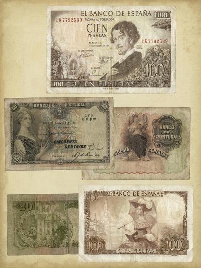 Antique Currency I-Vision Studio-Art Print
