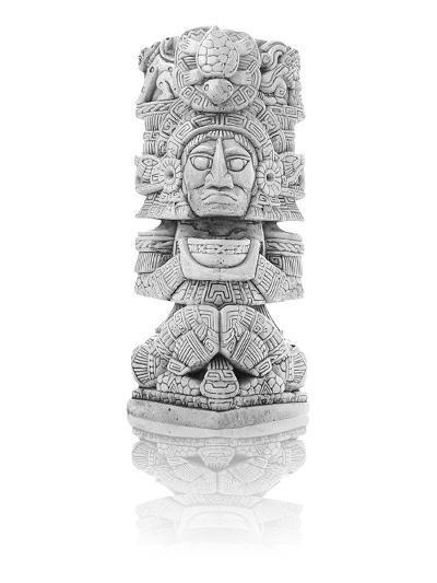Antique Inca Statue--Art Print
