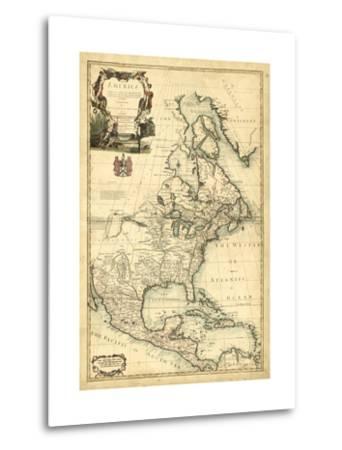 Antique Map of America III
