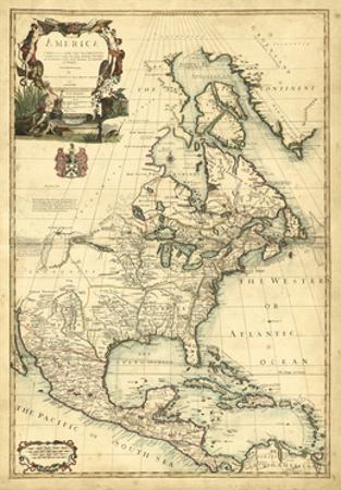 Antique Map of America III