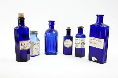 Antique Pharmacy Bottles-Gregory Davies-Photographic Print