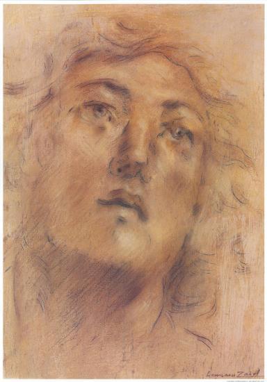 Antique Portrait III-Lewman Zaid-Art Print