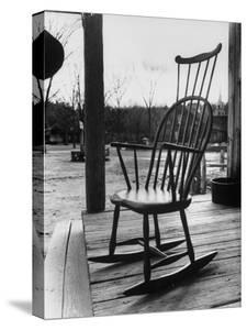 Antique Rocking Chair Displayed at Old Sturbridge Village