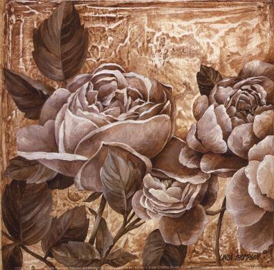 Antique Rose I-Linda Thompson-Art Print