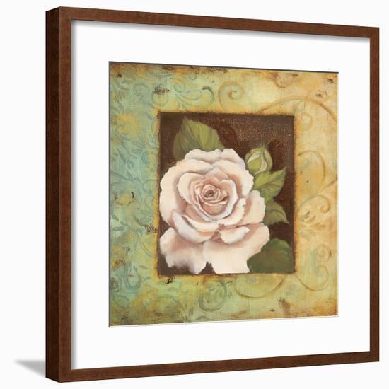 Antique Rose III-Jillian Jeffrey-Framed Art Print