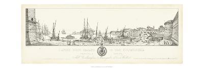 Antique Seaport II-Antonio Aquaroni-Art Print