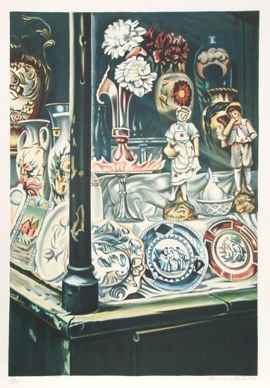Antique Shop-Clarence Holbrook Carter-Limited Edition