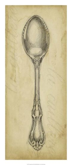 Antique Spoon-Ethan Harper-Giclee Print