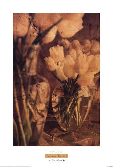 Antique Tulips I-Thea Schrack-Art Print