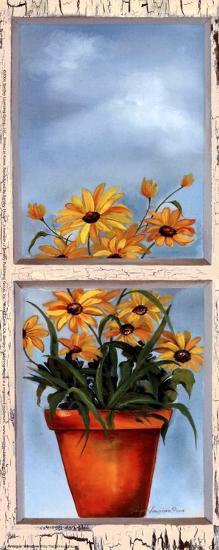 Antique Window II-Paige Houghton-Art Print