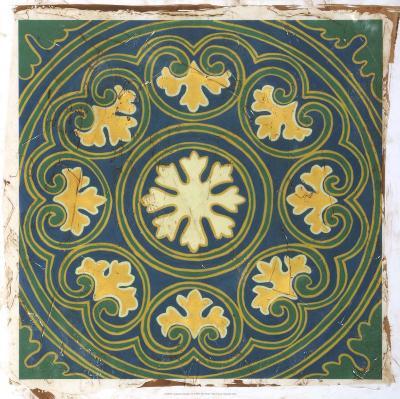 Antiqued Cloisonne III-Chariklia Zarris-Giclee Print