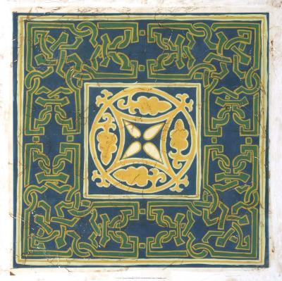 Antiqued Cloisonne V-Chariklia Zarris-Giclee Print