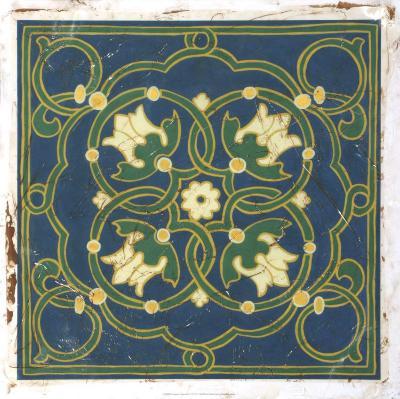 Antiqued Cloisonne VI-Chariklia Zarris-Giclee Print