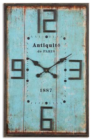 Antiquite Distressed Wall Clock Home Accessories By Art Com
