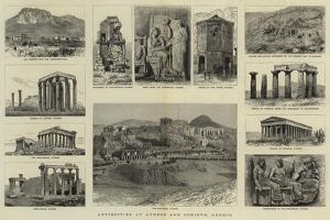 Antiquities at Athens and Corinth, Greece