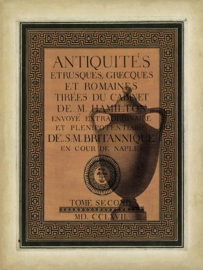 Antiquities Collection I-Vision Studio-Art Print