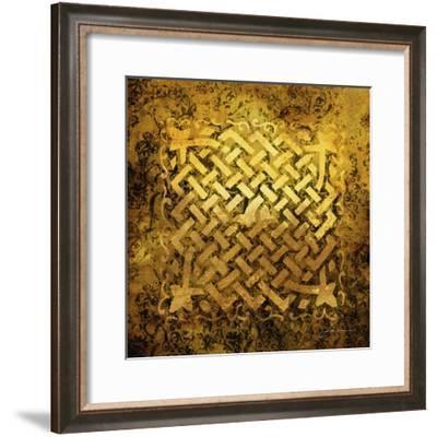 Antiquity Tiles V-James Burghardt-Framed Art Print