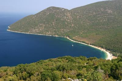 Antisamos (Captain Corellis Beach), Kefalonia, Greece-Peter Thompson-Photographic Print