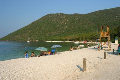 Antisamos (Captain Corellis Beach), Kefalonia, Greece-Peter Thompson-Photographic Print