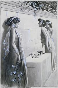 Aphrodite, 1896 by Antoine Calbet