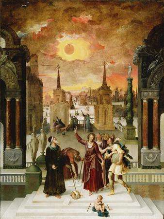 Dionysius the Areopagite Converting the Pagan Philosophers, 1570s