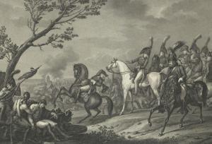 The Battle of Jena or Death of the Duke of Brunswick by Antoine Charles Horace Vernet