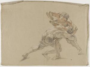 Deux lutteurs by Antoine Coypel