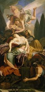 Dido's Death by Antoine Coypel