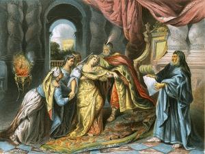 Esther before Ahasuerus by Antoine Coypel