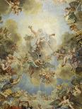 La chapelle royale: voûte-Antoine Coypel-Giclee Print